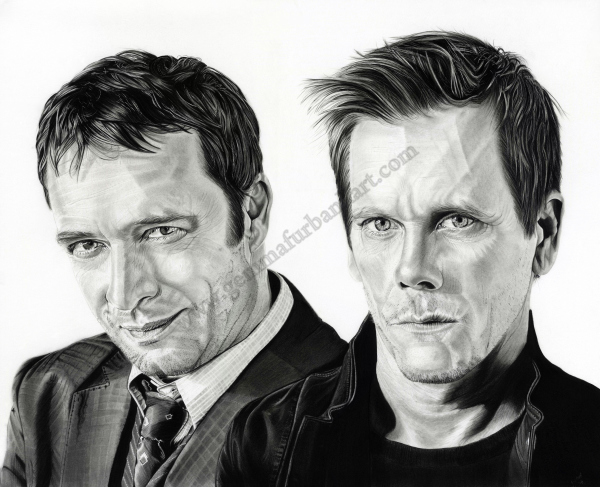 The Following - James Purefoy & Kevin Bacon